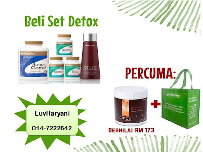 Promosi Hebat National Conference Shaklee : Set Detox