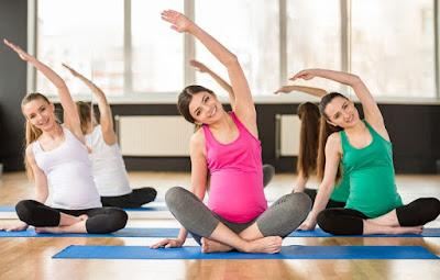 các bài tập yoga cho bà bầu