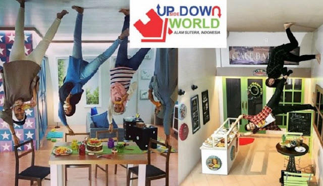 4. Upsidedown World Alam Sutera