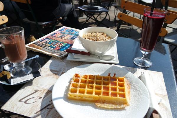 ljubljana petit café déjeuner