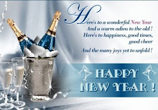 advance new year sms
