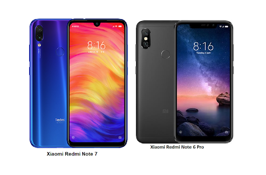 Xiaomi Redmi Note 7 Vs Xiaomi Redmi Note 6 Pro Comparisons