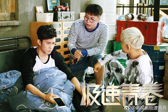 Speed Chinese TV Series car racing Du Haitao