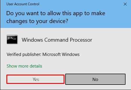 "Workaround: UAC Yes Button Grayed Out in Windows 10 ""User Account Control"" Pop up"