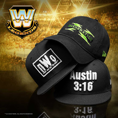 WWE Legends Hat Collection by New Era Cap
