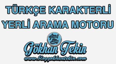 Türkçe Karakterli Yerli Arama Motoru Hakkındaki Düşüncelerim