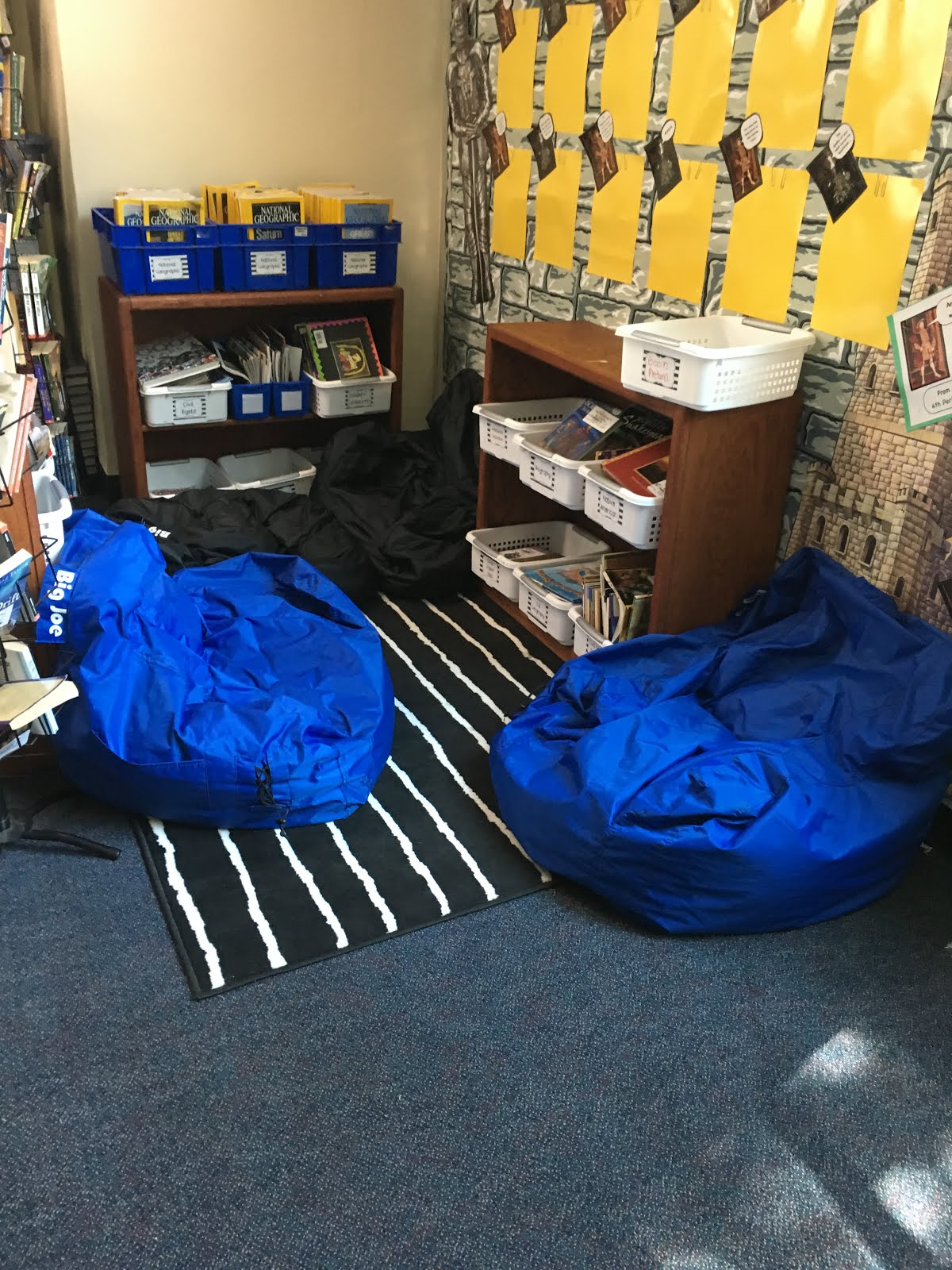 Bean Bag Chairs For Kids Ikea Chair Cover Rental Tampa Middle School Mob: Flexible Seating In