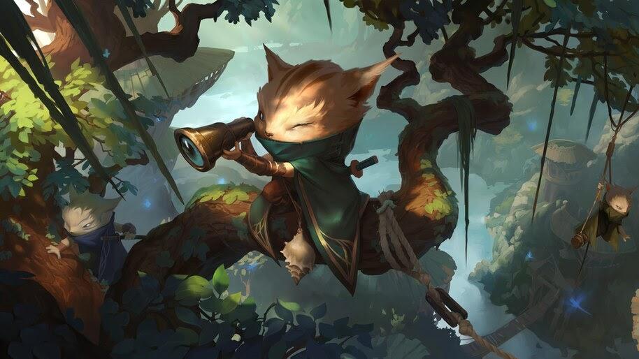 Legends of Runeterra, Greenglade Lookout, 4K, #4.1472