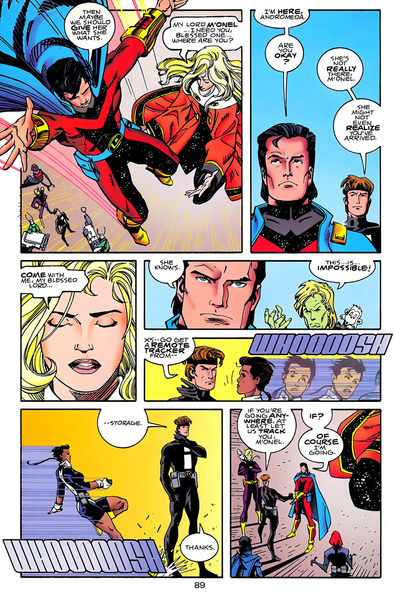 Legion of Super-Heroes (1989) 100 Page 81
