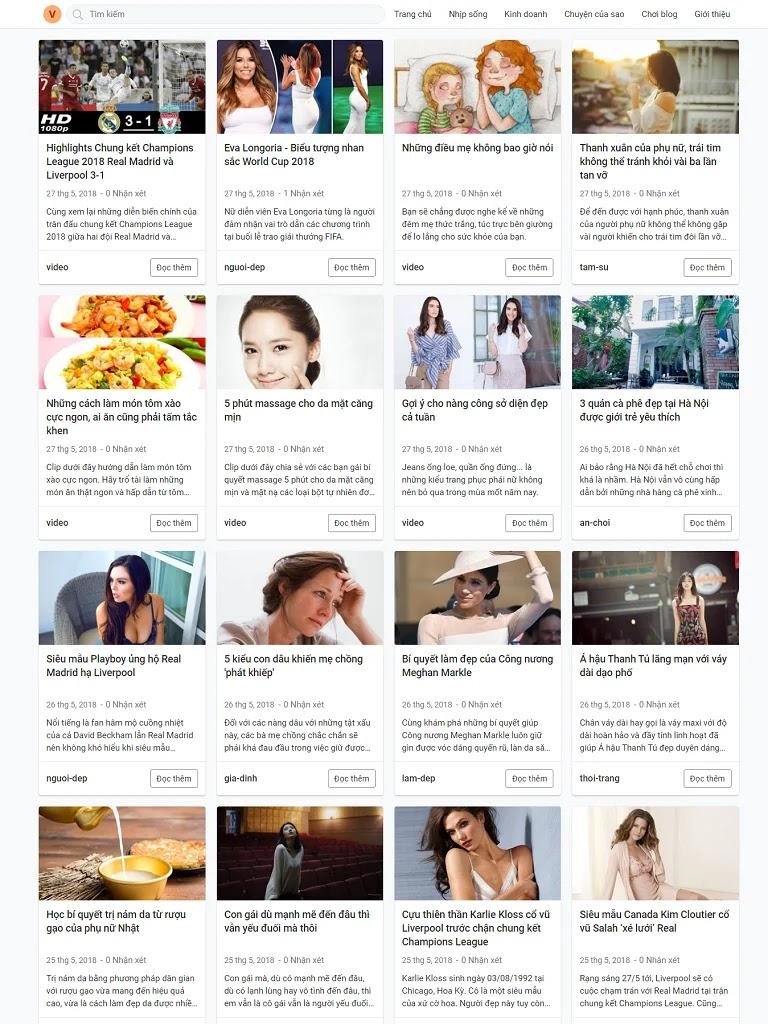 Theme blogspot tin tức load nhanh chuẩn seo mới nhất - Ảnh 1