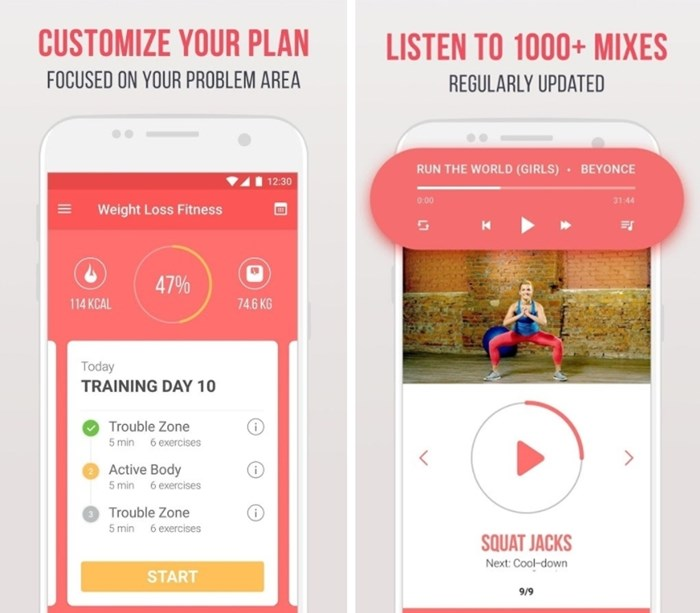 Fitness Weight Loss app
