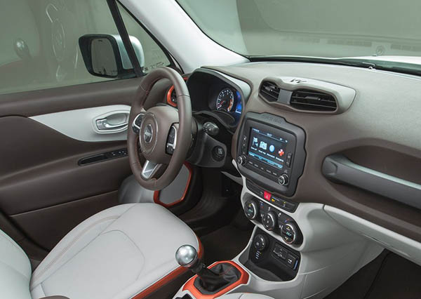 Burlappcar 2019 Jeep Renegade Interior