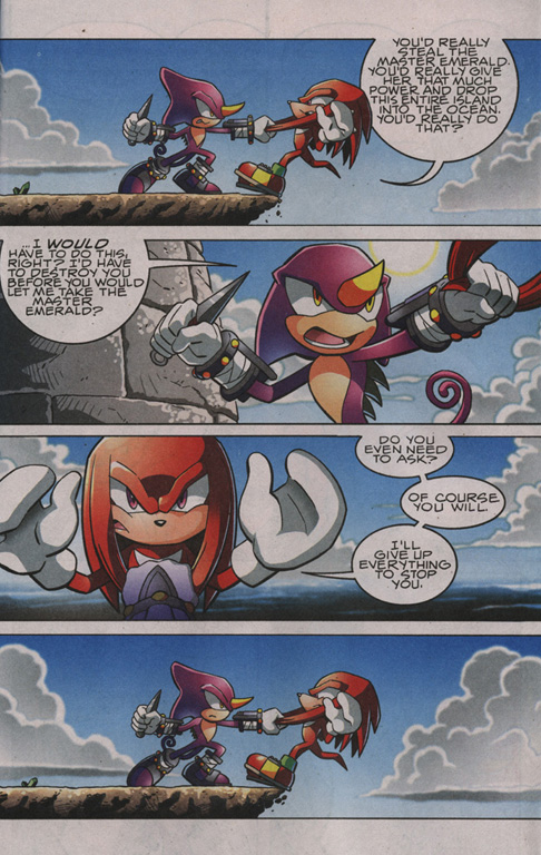 Read online Sonic The Hedgehog comic -  Issue #204 - 20