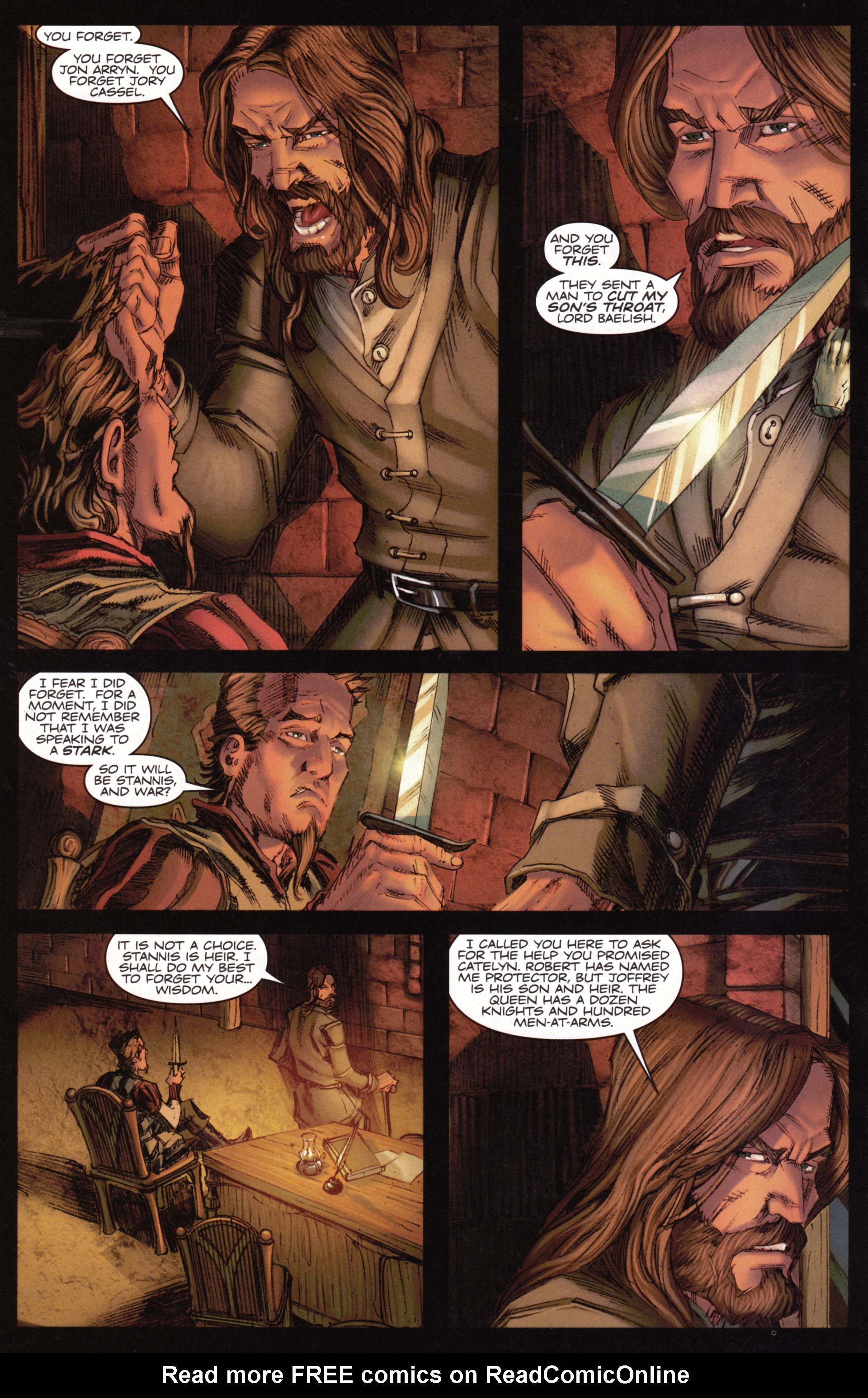 Read online A Game Of Thrones comic -  Issue #15 - 20