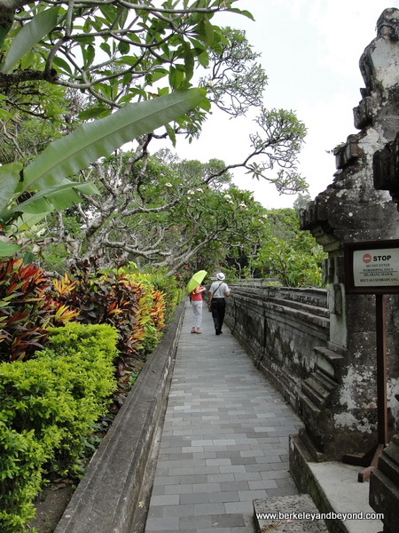 pathway at Taman Ayun Temple  in Mengwi village, Bali