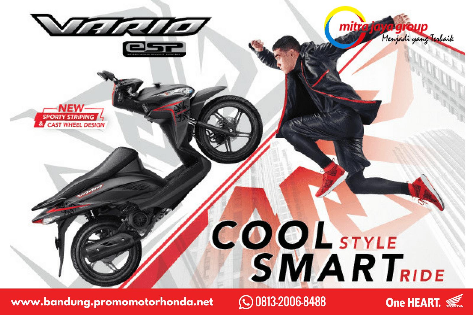 Harga Kredit Motor Honda Vario 110 Esp New Cbs Iss Grande White Yogyakarta Bandung