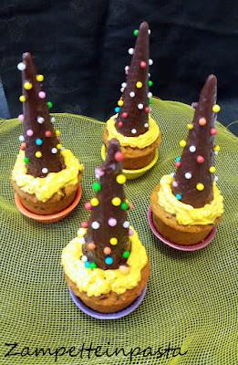 Muffin alla zucca e gocce di cioccolato - Ricetta Halloween