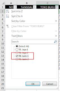 Cara Filter Di Excel : filter, excel, Bekerja, Dengan, Filter, MENGIDENTIFIKASI, LANGKAH-LANGKAH, PENGURUTAN, (SORTING), Menggunakan, Excel, Pengurutan, Adalah, Sebuah, Bagian, Analisis, Data., Mungkin, Ingin