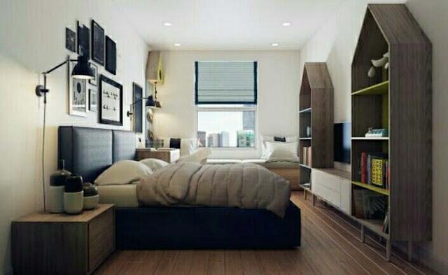 Desain Rumah Mininalis type 45 3 Kamar