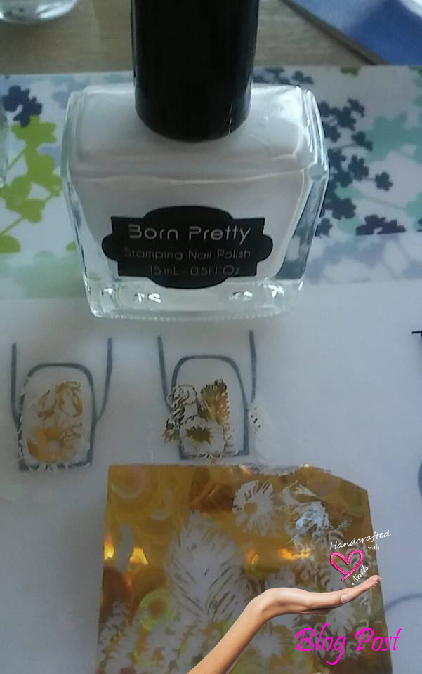 Handcrafted with Love Nails: Stamping and transfer foil (cheaper ...