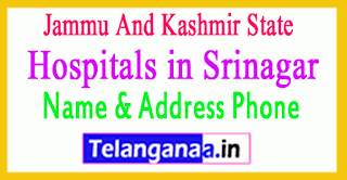 Hospitals in Srinagar Jammu And Kashmir