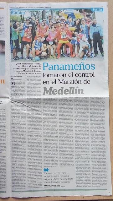Maraton de Medellin 2016