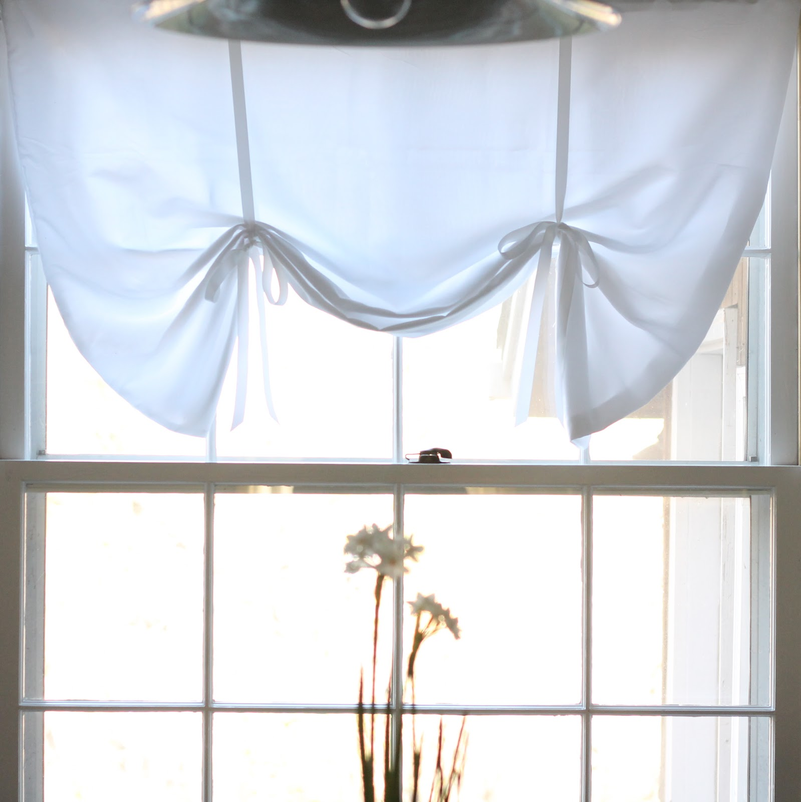 DIY Relaxed No Sew Roman Shade - Julie Blanner