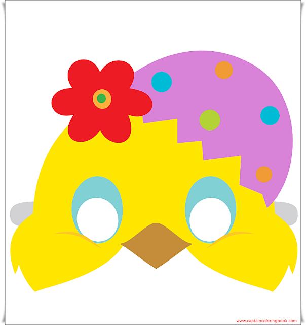 Chick Mask free