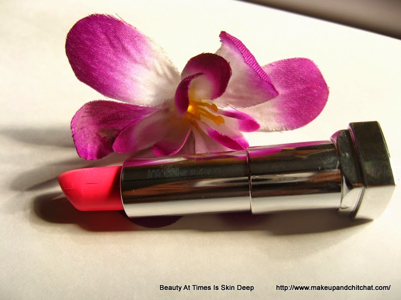 Photo of Maybelline Pink Alert Lipstick in POW3