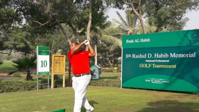 Matloob Ahmed Rashid D. Habib Memorial is the first day of the National Professional Golf
