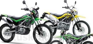 Motor Trail Cross Kawasaki KLX 150