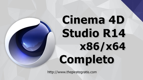 Download CINEMA 4D R14 + Crack Completo via Torrent