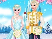 Frozen Elsa Queen Wedding