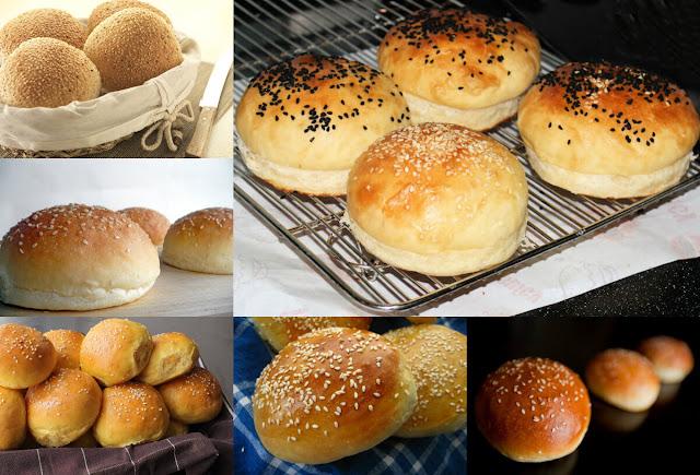 أحلى وأسهل طريقة لعمل خبز البرجر بسهولة تامة و بمكونات بسيطة ومتوفرة في كل المنزل!