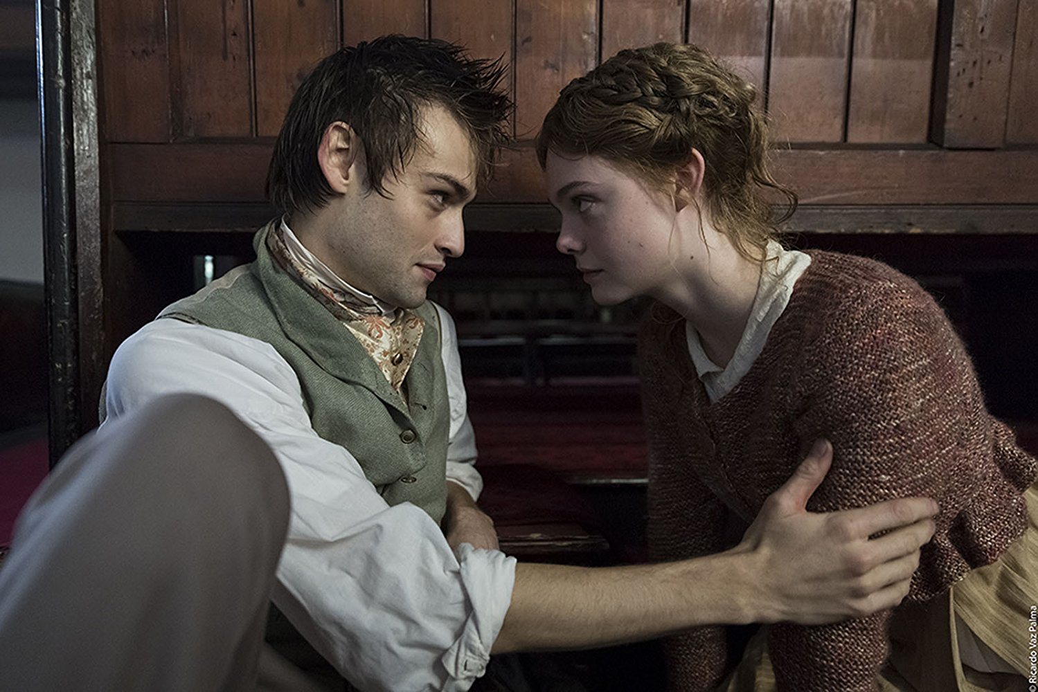 MARY SHELLEY - pelicula - Elle Fanning y Douglas Booth