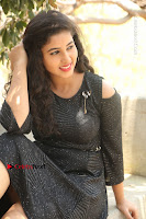Telugu Actress Pavani Latest Pos in Black Short Dress at Smile Pictures Production No 1 Movie Opening  0126.JPG