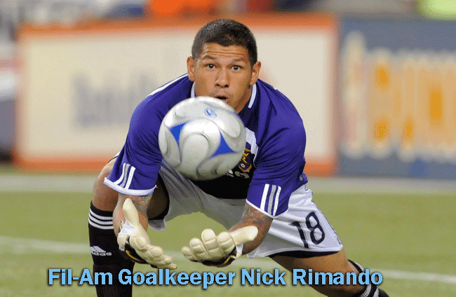US World Cup Roster Penetrated By a Fil-Am Goalkeeper Nick Rimando
