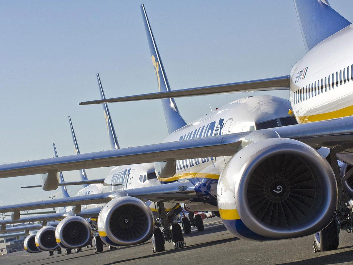 flota aviones ryanair