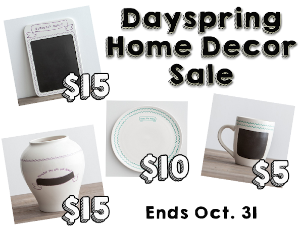 Decorate with Intention and Save with Dayspring's Home Decor Sale! #Dayspring