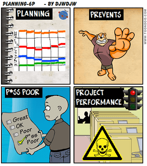 "The 6 ""P""s of Project Planning"
