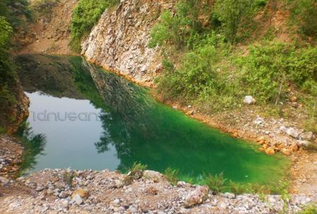 Wisata Danua Warna, Pucanglaban Tulungagung 2