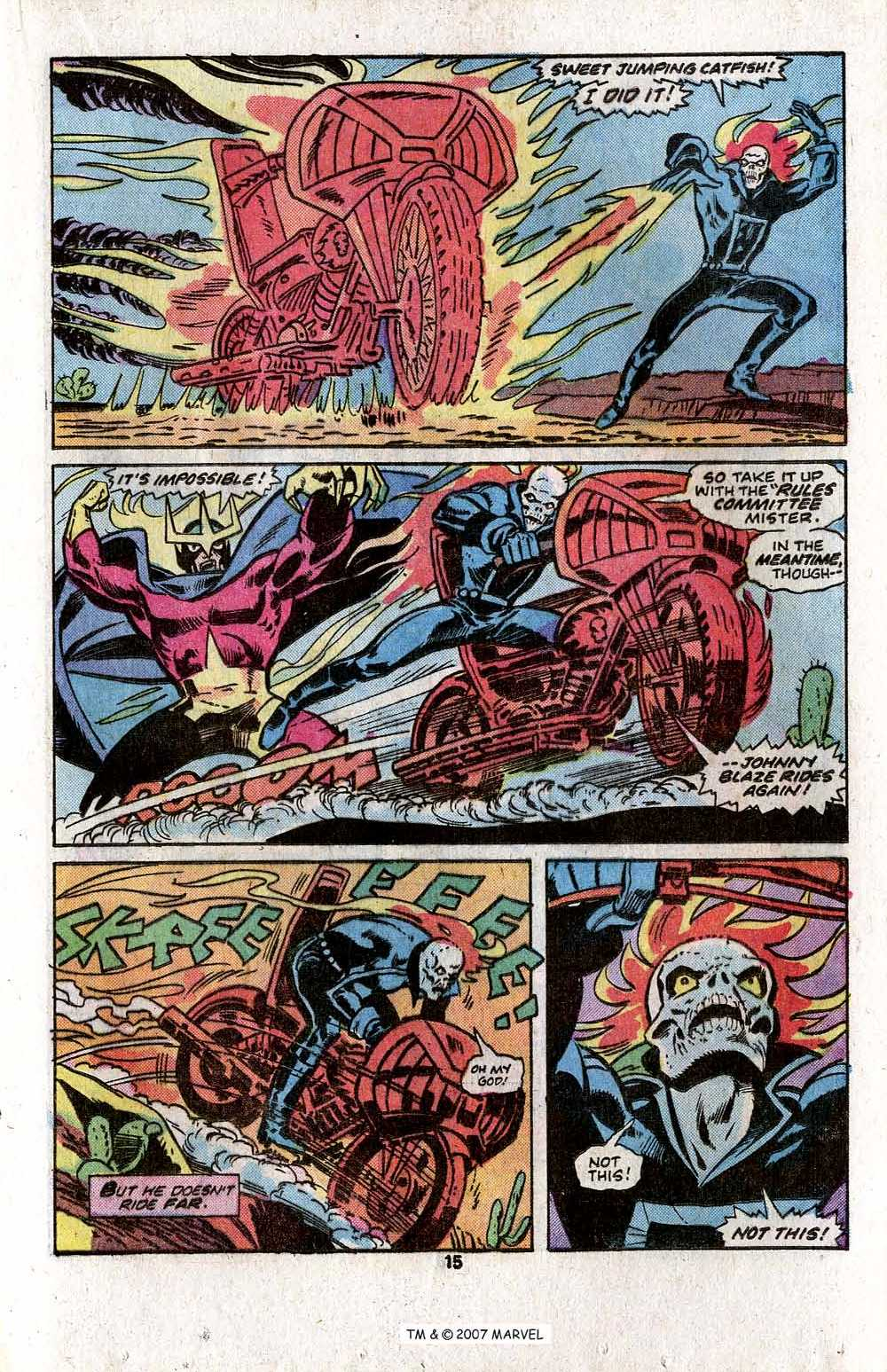 Ghost Rider (1973) Issue #18 #18 - English 17