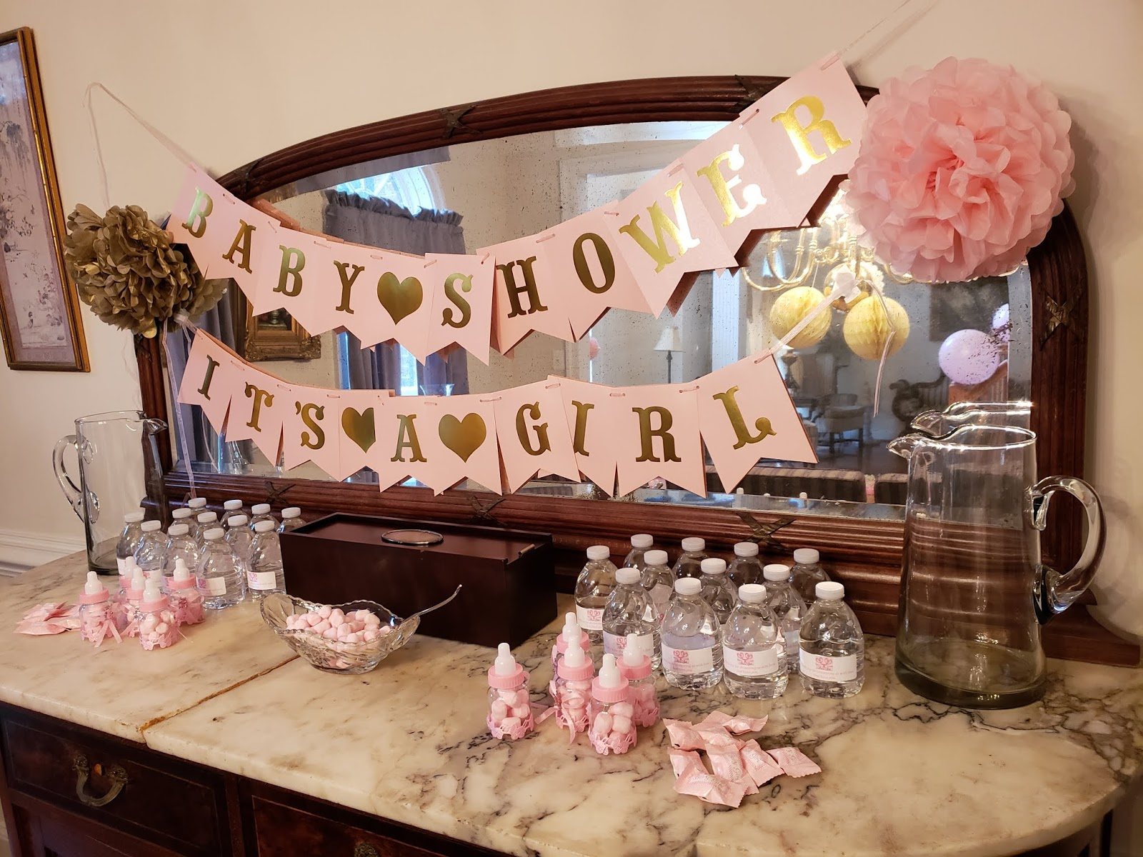 The First Commandment Baby Shower 2018