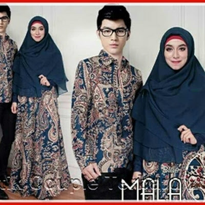 2PTH Baju Couple Online Ala Solo Mala Modern Bj3002