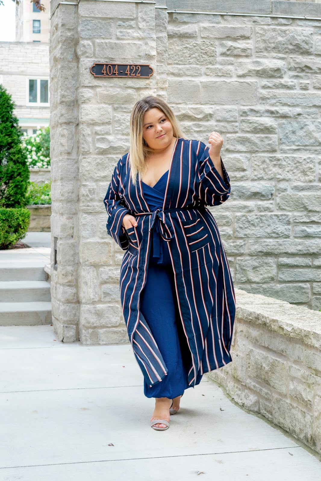Chicago fashion blogger, Chicago plus size fashion blogger, natalie Craig, natalie in the city, plus size fashion, Chicago fashion, plus size fashion blogger, eff your beauty standards, fatshion, skorch magazine, Chicago model, plus size model, plus size petite, affordable plus size clothing, embrace your curves, plus model magazine,  petite plus size, fashion nova, fashion nova curve, jumpsuits, striped kimono