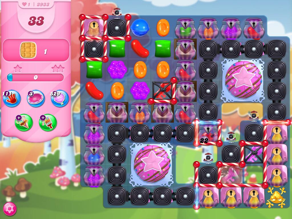 Candy Crush Saga level 3933