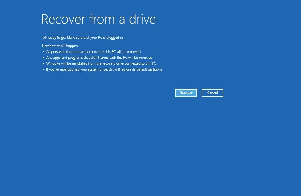 Hướng dẫn tạo thiết bị phục hồi máy tính trong Windows 10 - Ảnh 12