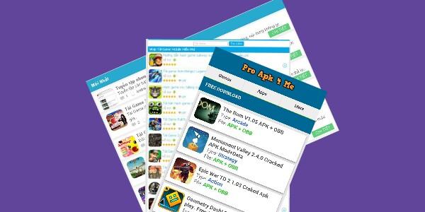 Tổng hợp một số Template dạng Wap game cực đẹp  cho các chế blogger