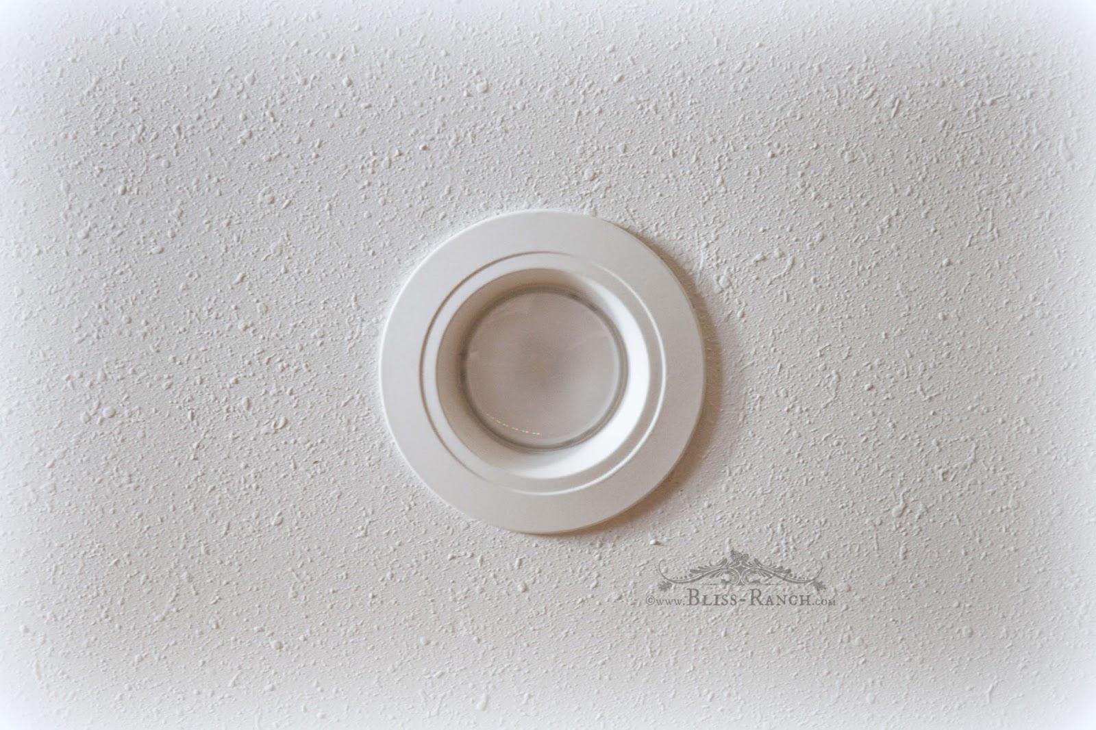 Bliss Ranch: LED Retrofit Kitchen Lights
