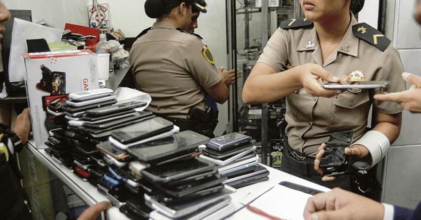 Celulares robados no funcionarán con ninguna red móvil del país, anunció el Ministerio del Interior - www.mininter.gob.pe